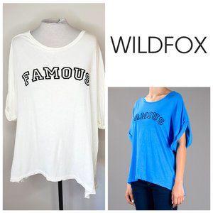 WILDFOX USA Famous Oversized T-Shirt